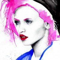 Pink Hair by Max Gregor 2012