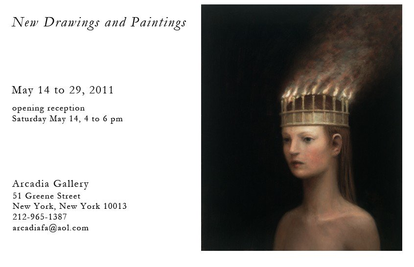 Aron Wiesenfeld New York Exibition Invite