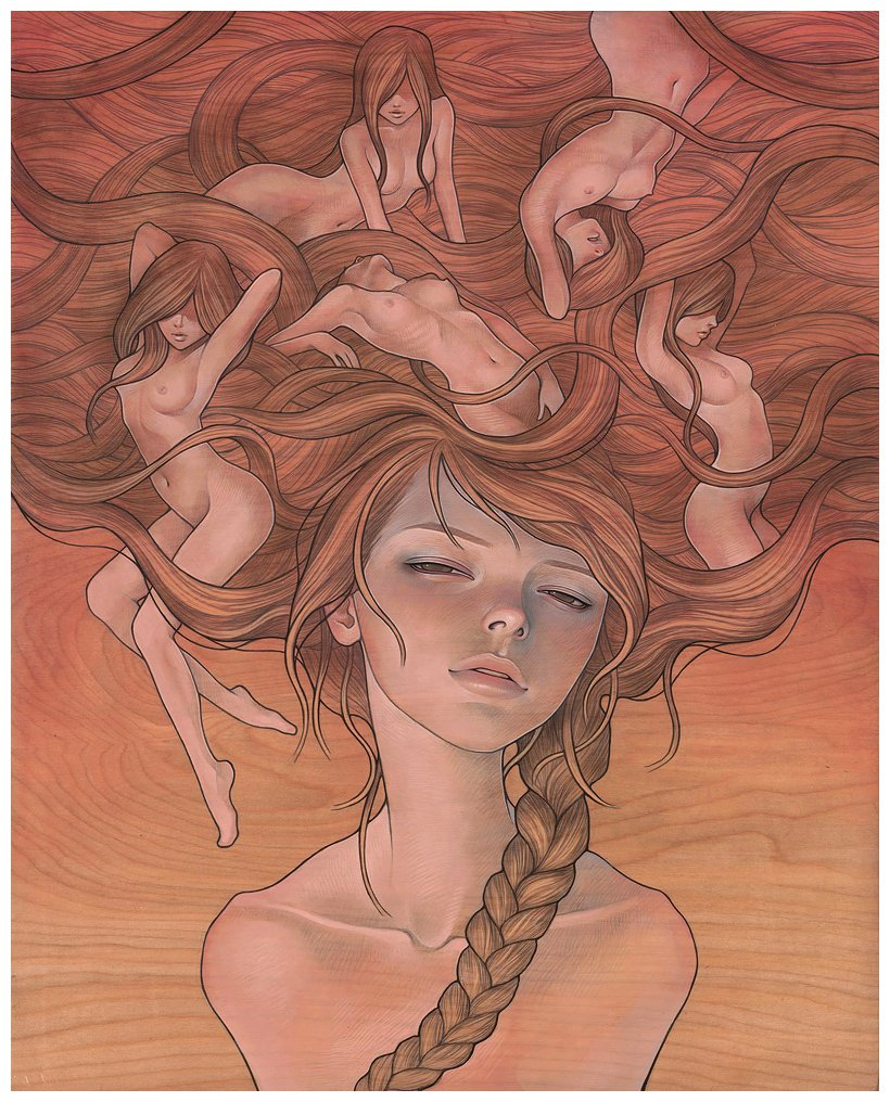 Audrey Kawasaki - She Entwined