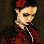 Brian M Viveros - Bullfight Her