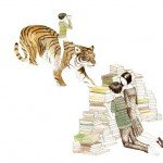 Julie Morstad - Book &amp; Tiger