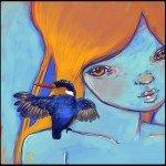 Kat Cameron - MissYuck - Malachite Kingfisher