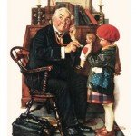 Norman-Rockwell-Doctor-and-the-Doll