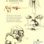 Ralph Steadman - Alice In Wonderland (Back Cover)