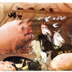 Ralph Steadman: Animal Farm - Group