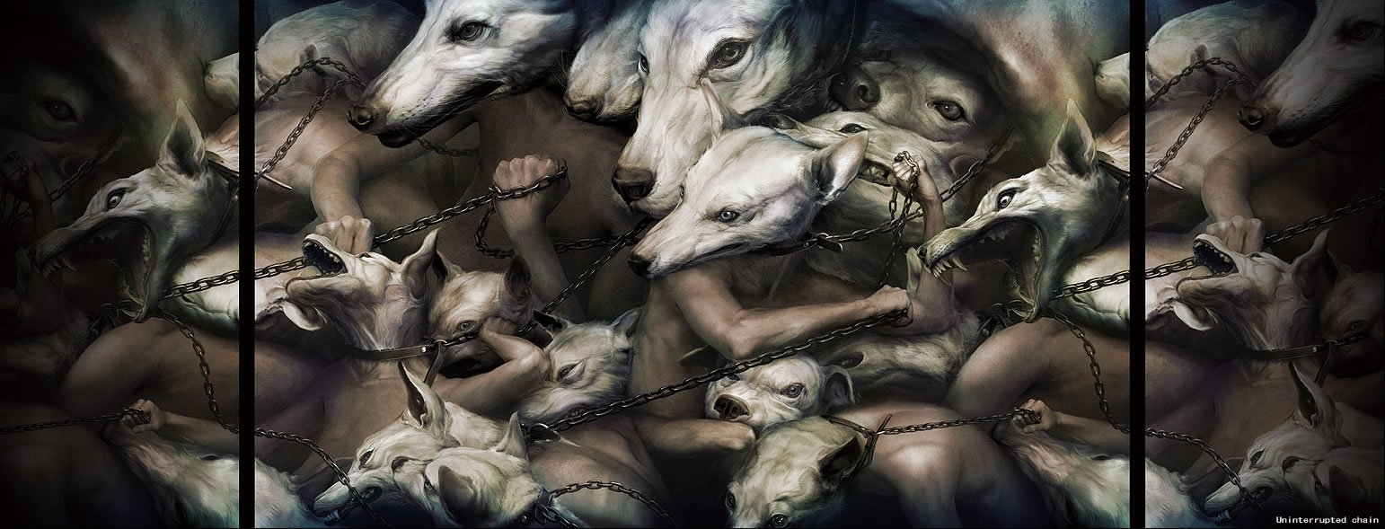 Ryohei-Hase-Dogs-Chains