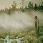 Theodor Kittelsen - Huldra forsvant