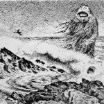 Theodor Kittelsen - Sjtrollet 1887 (The Sea Troll)