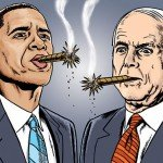 Barack Obama &amp; John McCain - 02