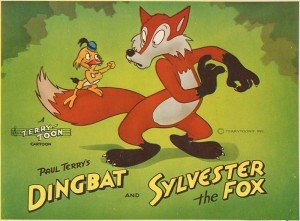 paul-terry-toons-dingbat-and-sylvester-the-fox