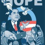 Barack Obama by Sam Flores - Hope