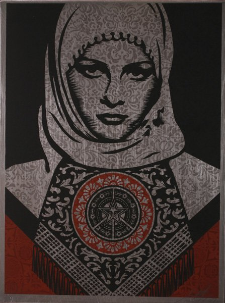 shepard-fairey-arab-woman