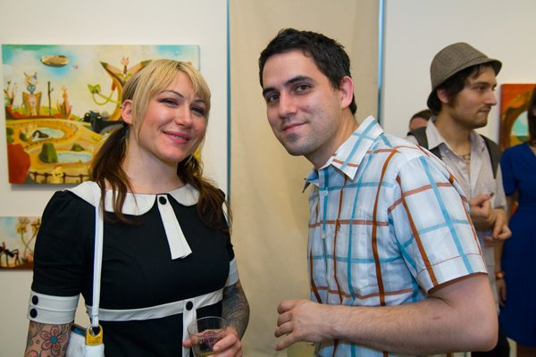 Tara Mcpherson and Souther Salazar