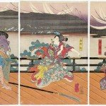 Utagawa Kuniyoshi - Triptych